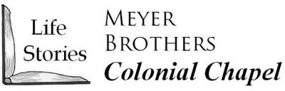 Obit-Meyer Bros Colonial Funeral Home logo