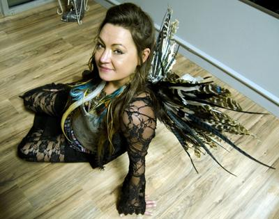 Tosha Riggs feather wings 2