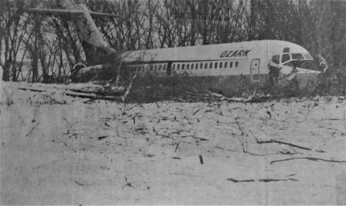Ozark aircraft crash, 50 years ago