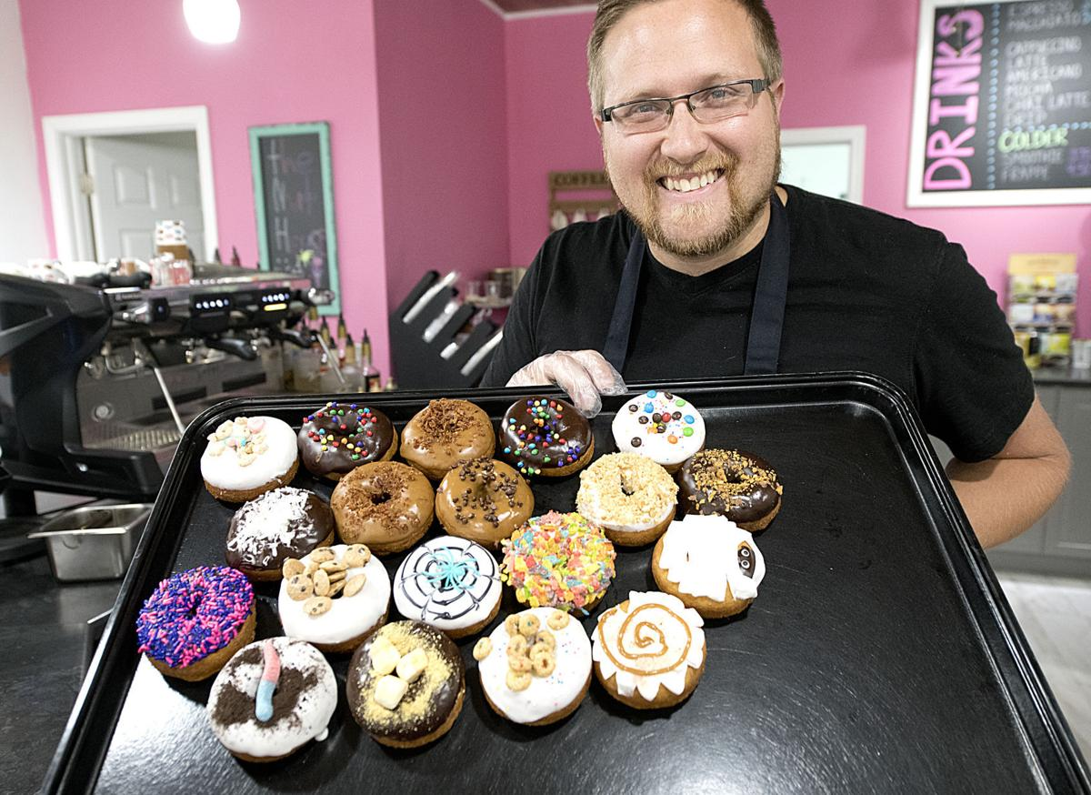Sprinkles offers gourmet donuts in a casual setting