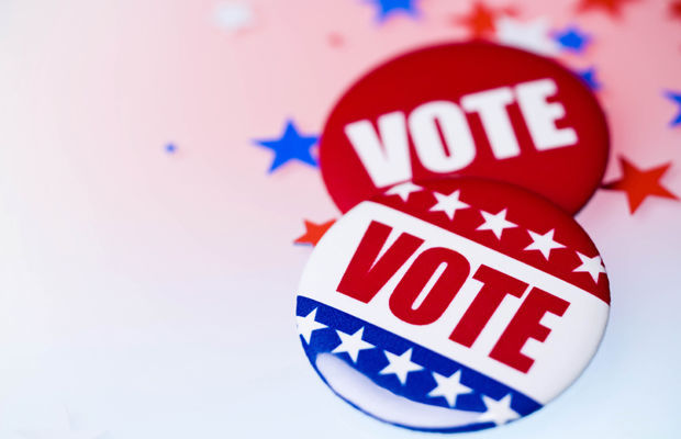 Stock art election vote
