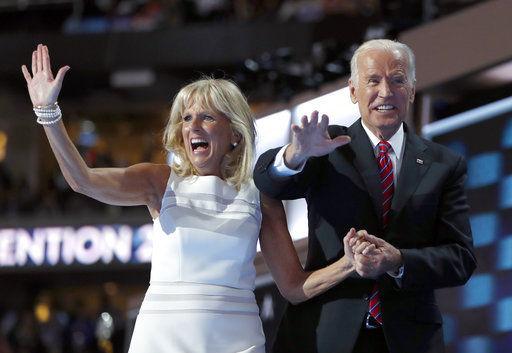 AP NewsBreak: Joe and Jill Biden get multi-book deal