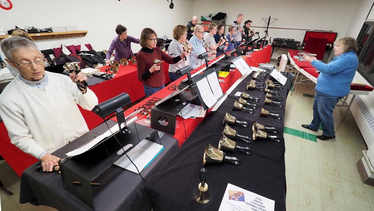 First Methodist Church handbell choir