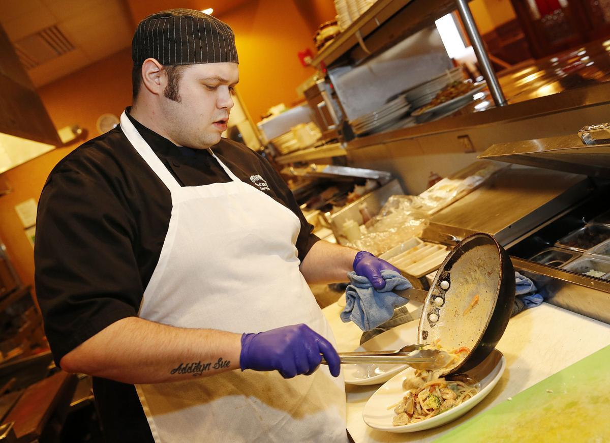 Minerva's executive chef Andrew Burger