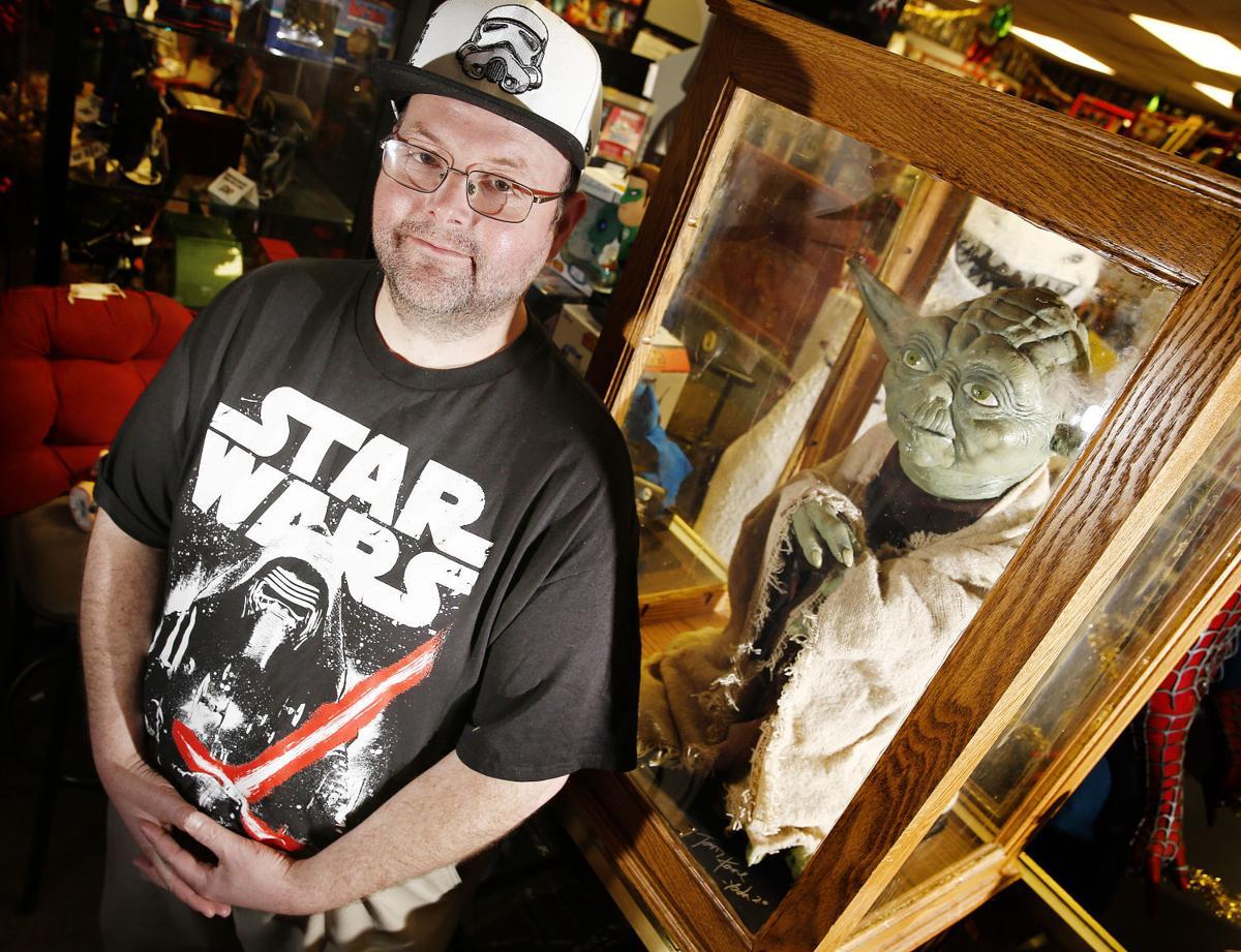 Yoda maquette