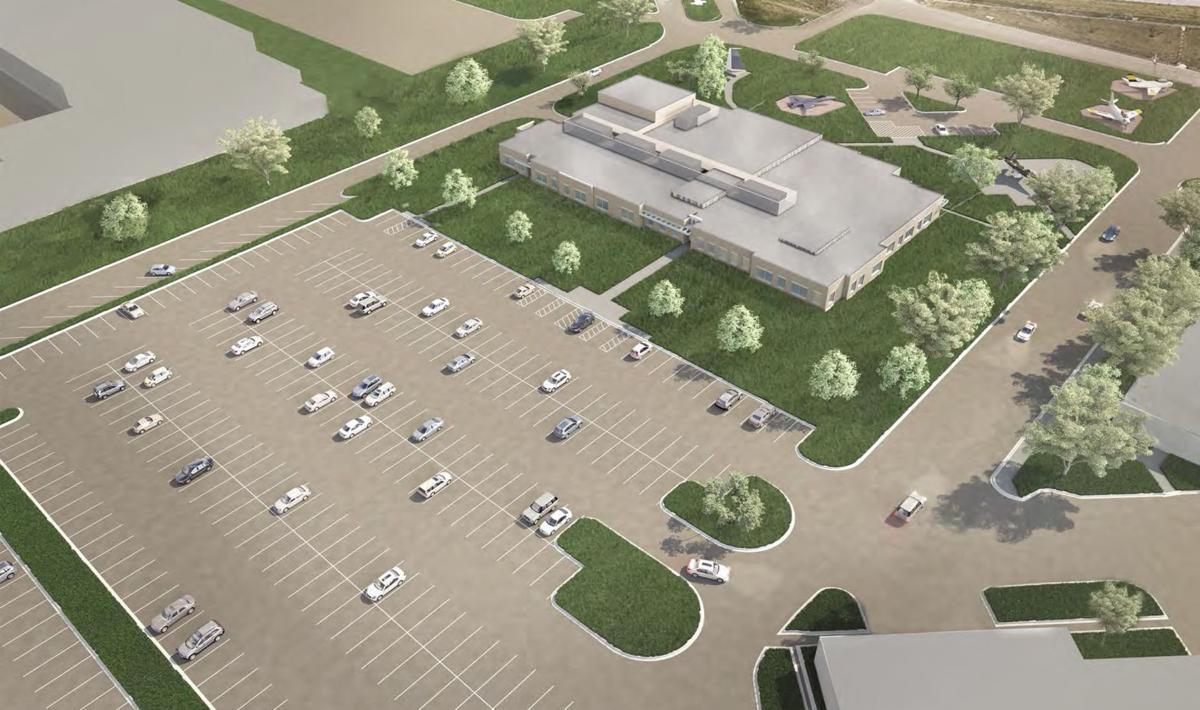 CSF Iowa Air National Guard conceptional rendering