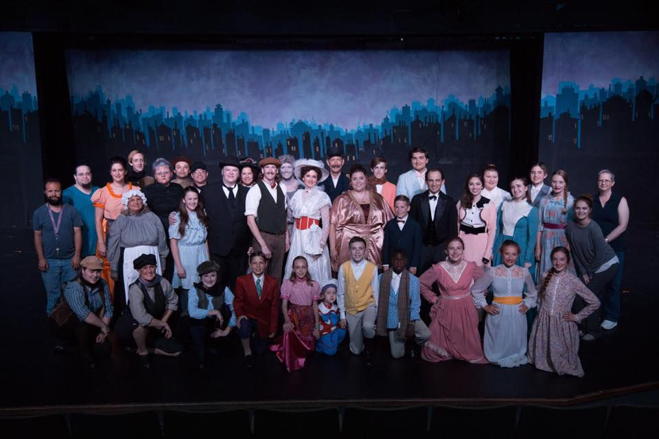 """SCCT's """"Mary Poppins"""" cast"""