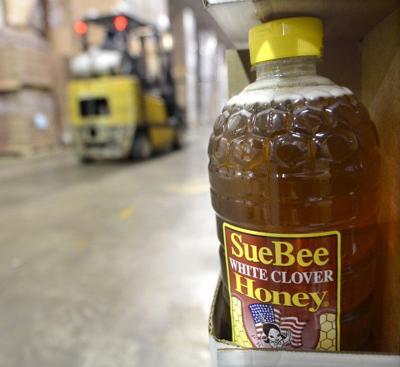 Sue Bee honey filtration