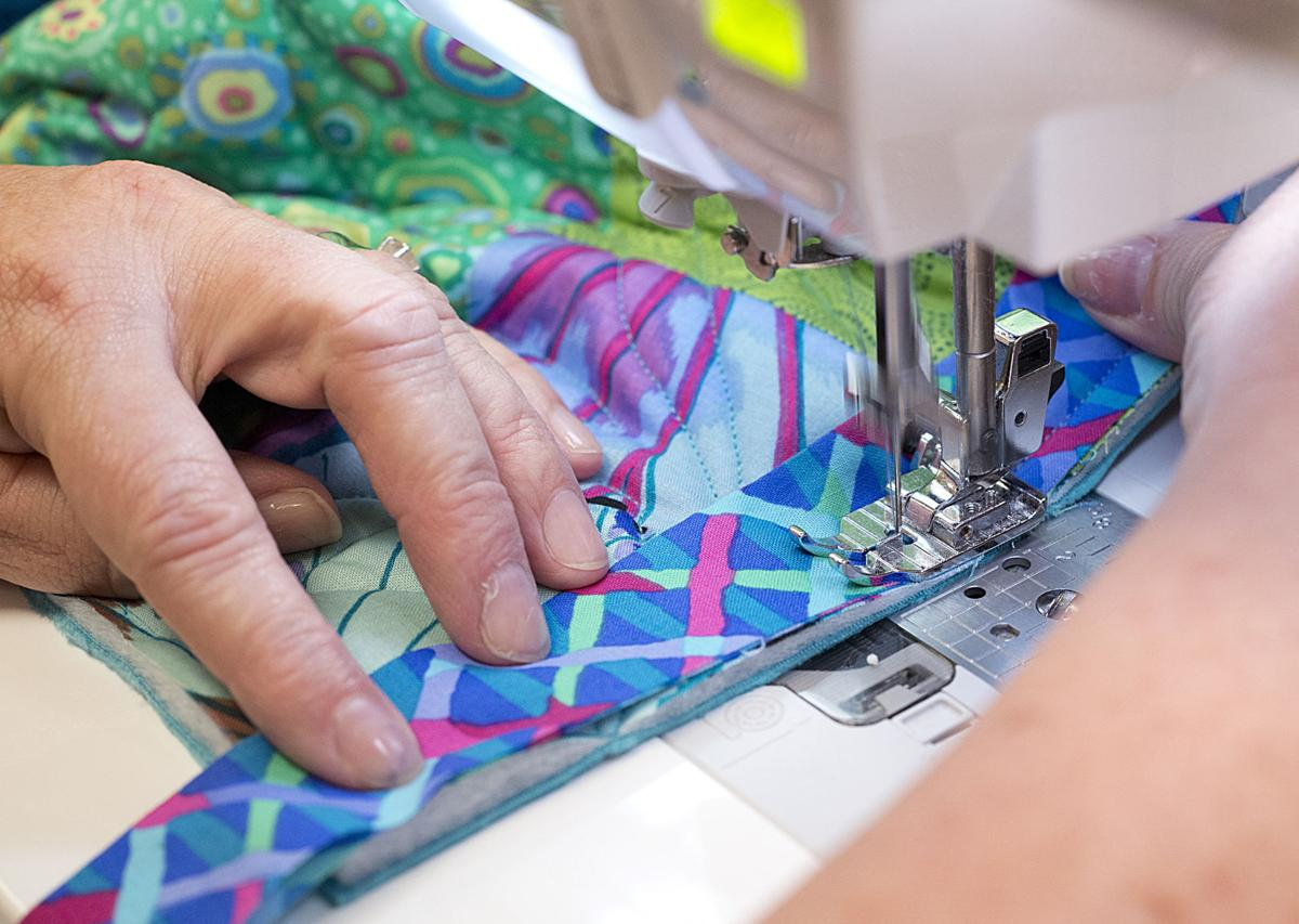 Home quilting