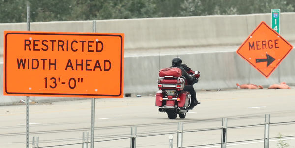 Image result for motorcycle construction zones pictures