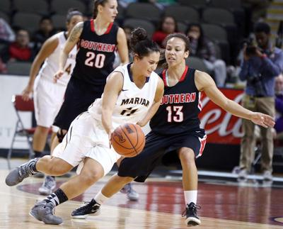 Southern Oregon vs Marian NAIA basketball championship