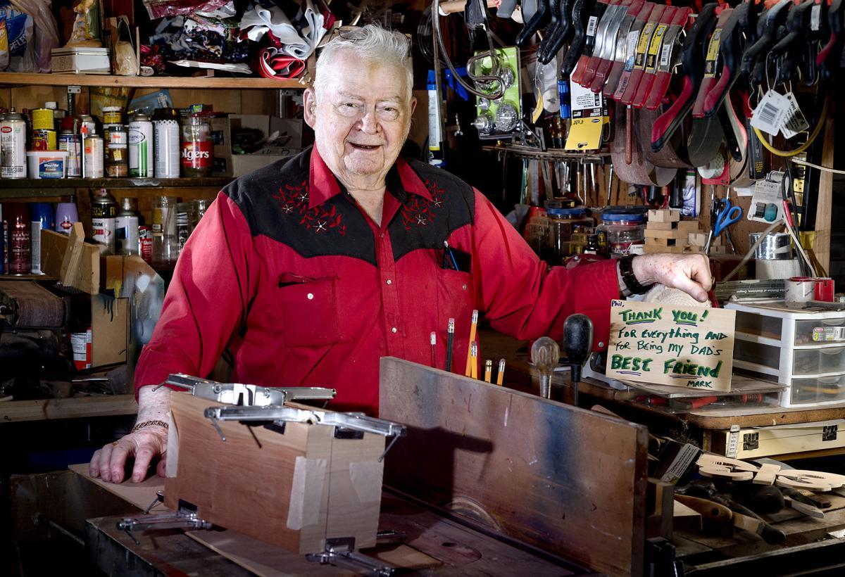 Korean War veteran Phil Severson