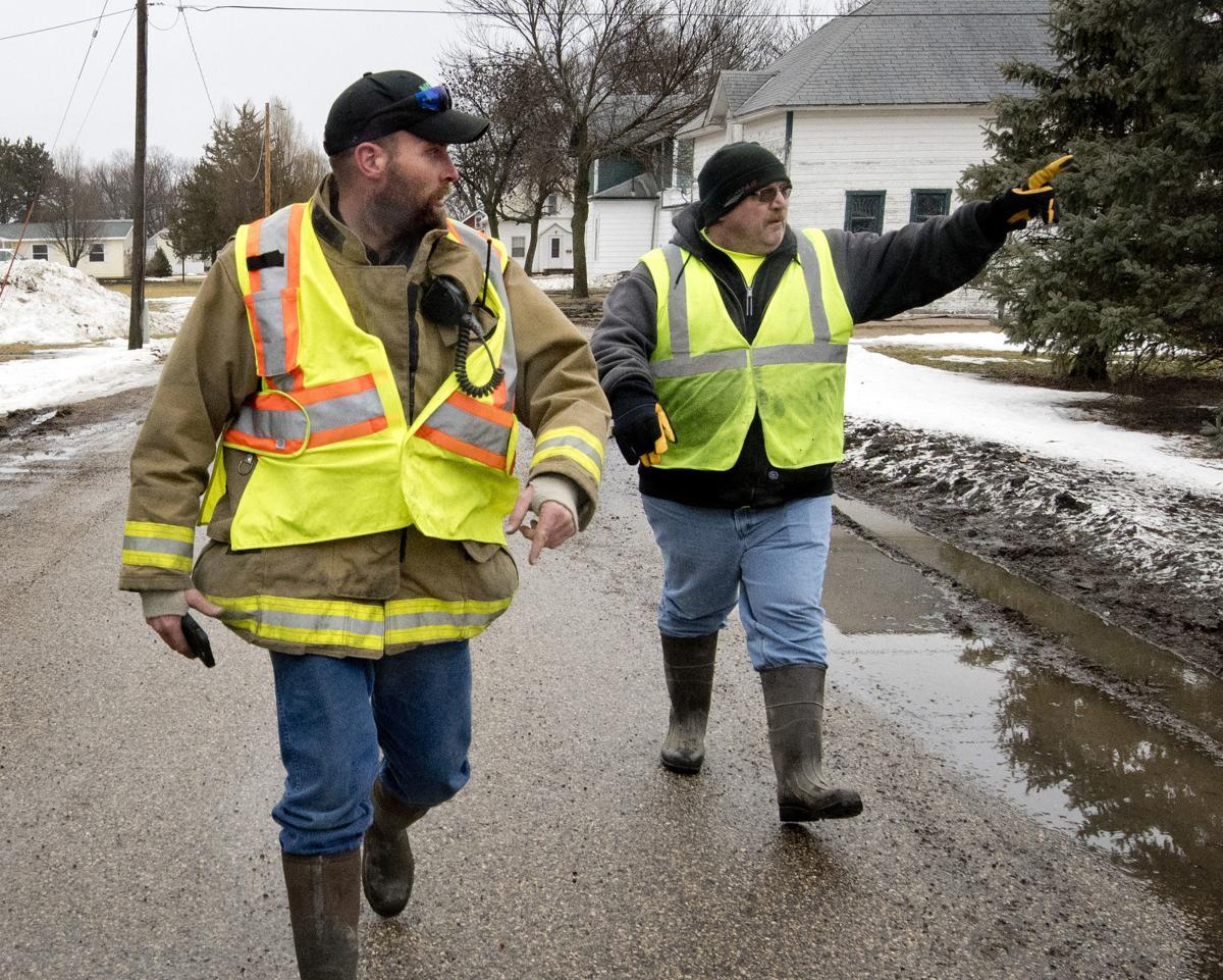 Hornick flooding evacuation