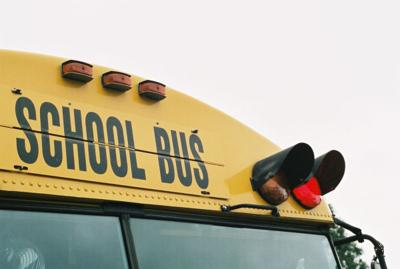 stock school bus