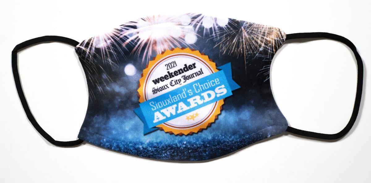 Siouxland Choice awards mask