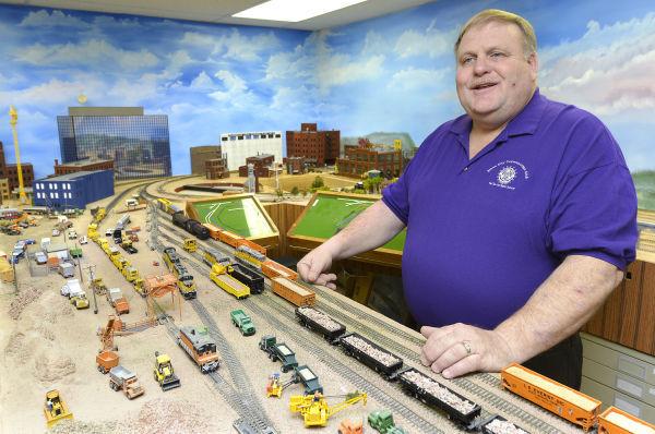 Model railroad hobbyist John Koskovich