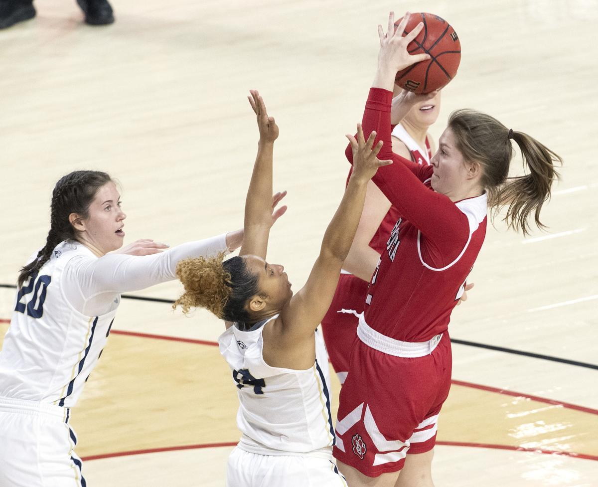USD vs Oral Roberts women's basketball