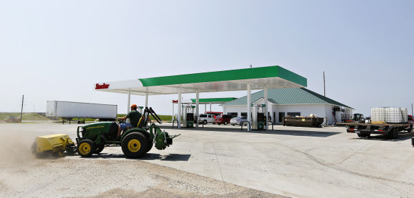 New Highway 20 gas station in Rockwell City