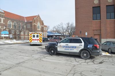 Pedestrian hit by vehicle