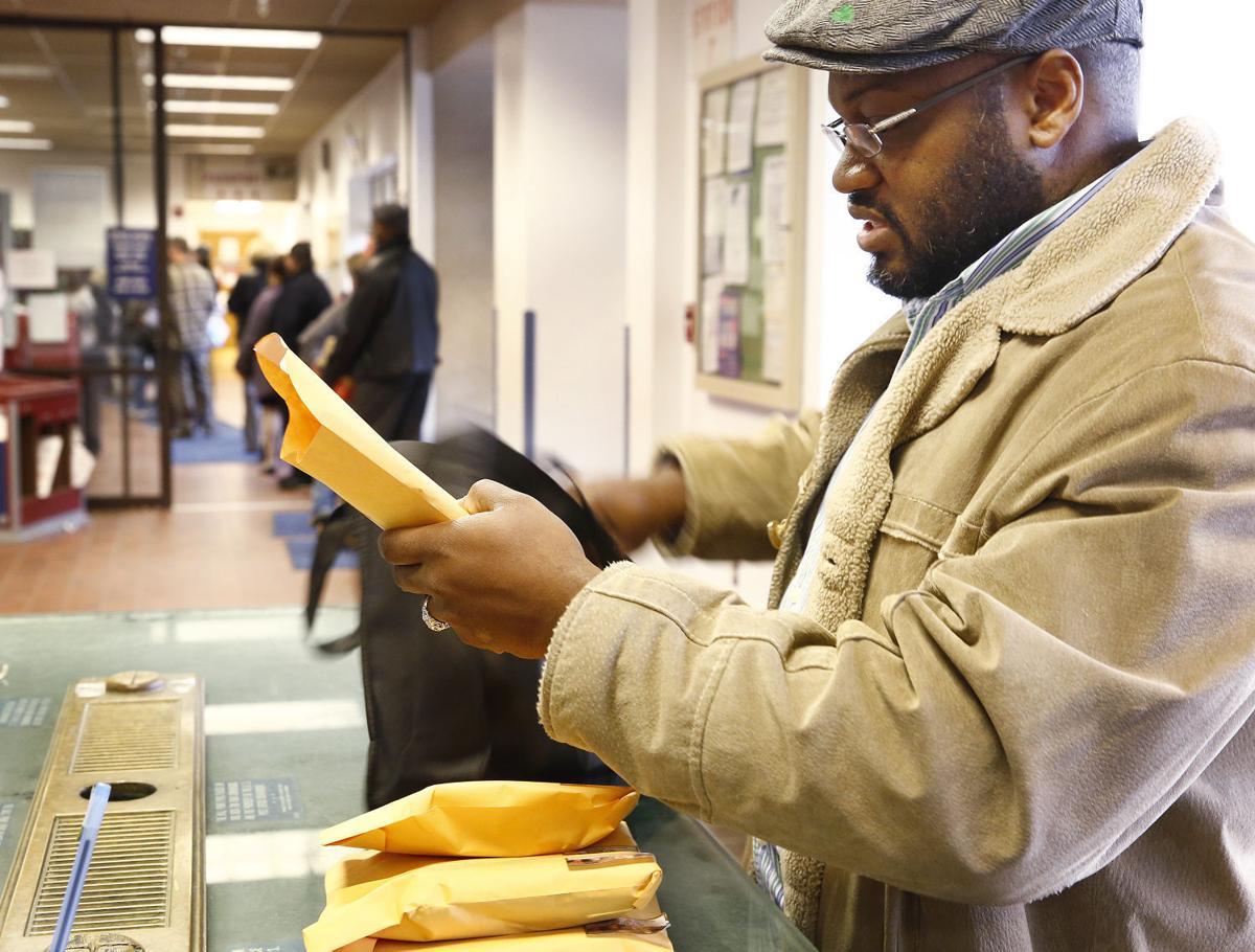 Post Office Christmas rush