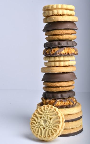 Food Girl Scout cookies
