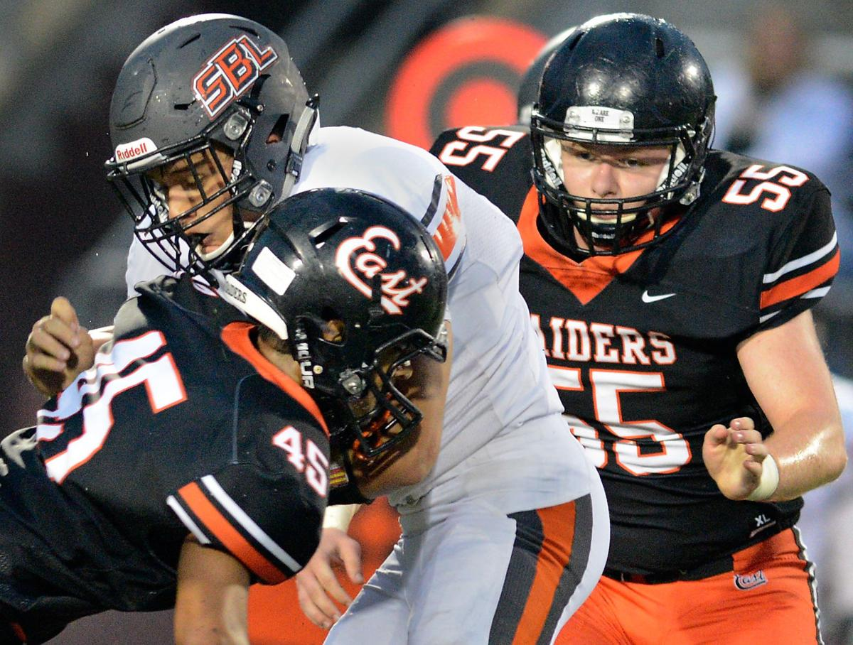Football Sergeant Bluff-Luton at Sioux City East