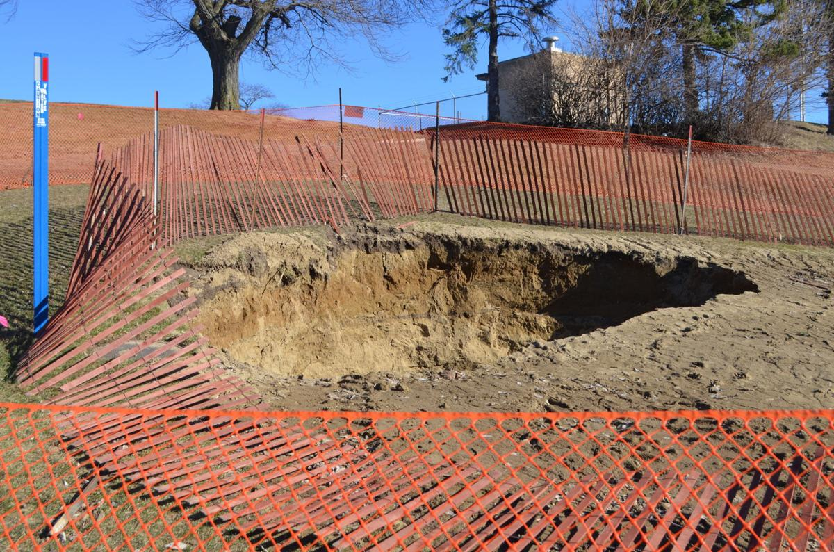 Sioux City sinkhole