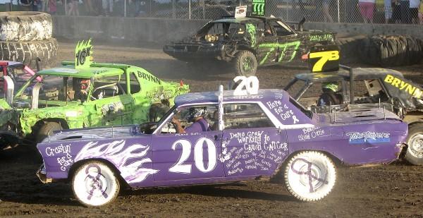Crash Demolition Derby Cars