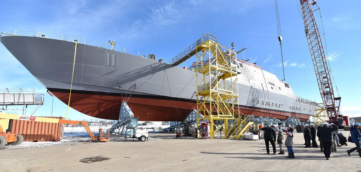 USS Sioux City tour