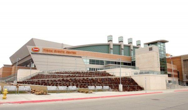 Tyson Events Center building