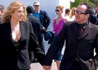 Diana Krall's dad unable to keep daughter's engagement a secret