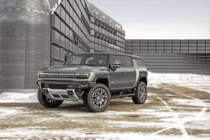 2022 GMC Hummer EV.