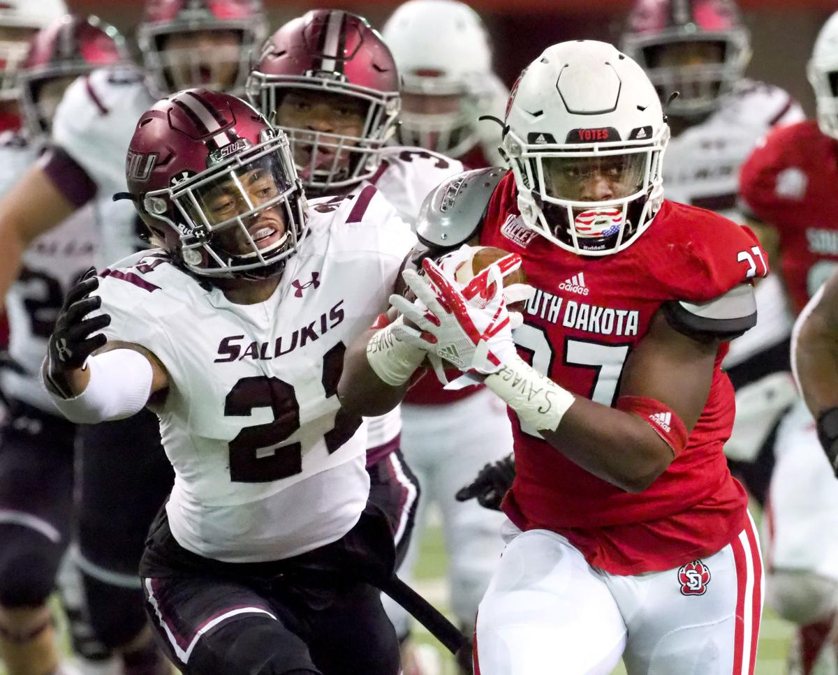 Southern Illinois at South Dakota football