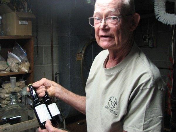 Pete Vander Meer's homemade brew