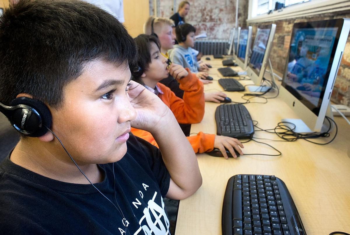 Boy's Club Computer Class