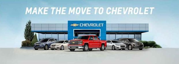 Make the move to Chevrolet and start your summer off right