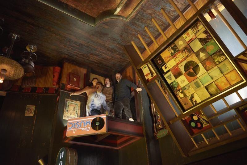 Escape Room scene