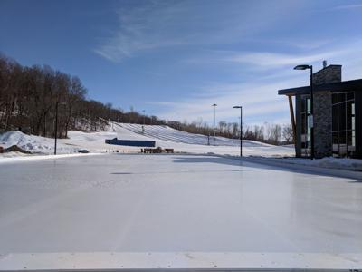 Cone Park ice skating rink