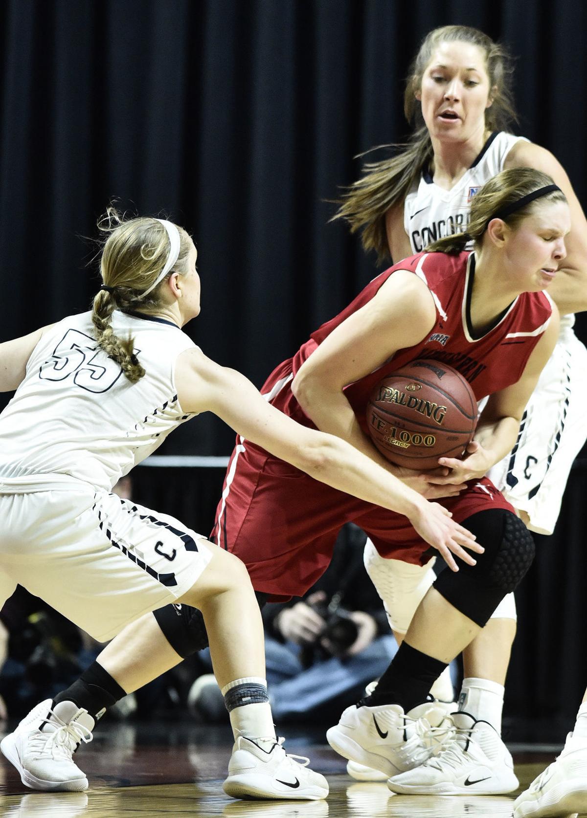 Northwestern vs Concordia NAIA basketball