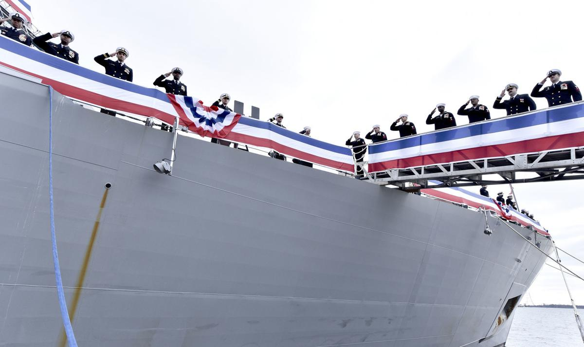 USS Sioux City Commissioning Ceremony