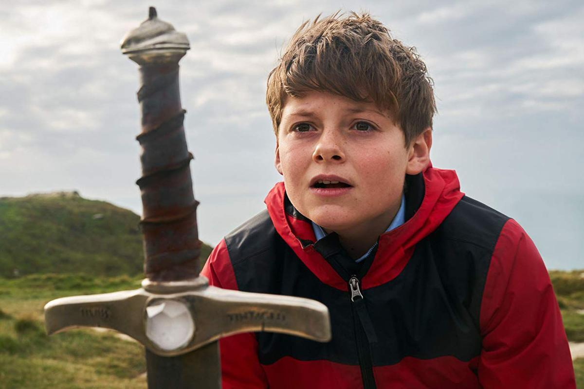 The Kid Who Would Be King scene