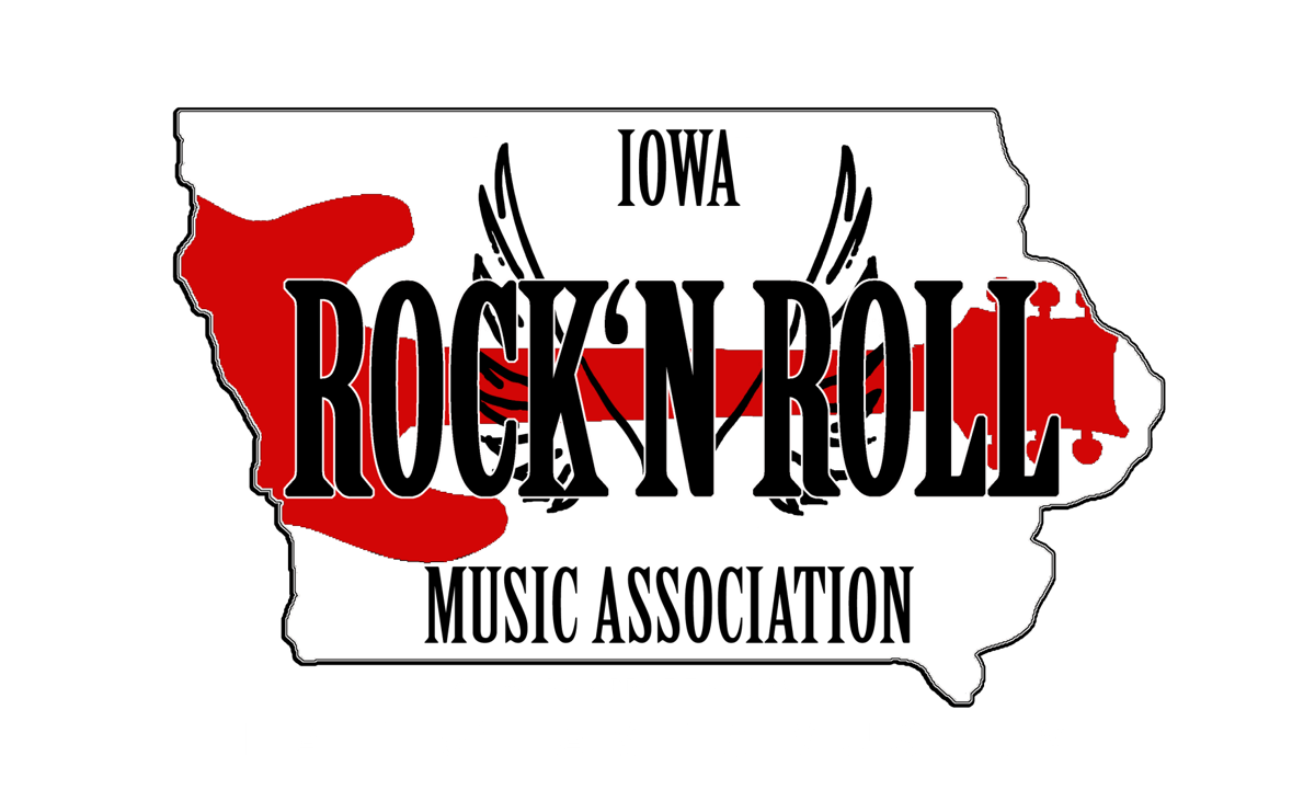 iowa rock and roll logo