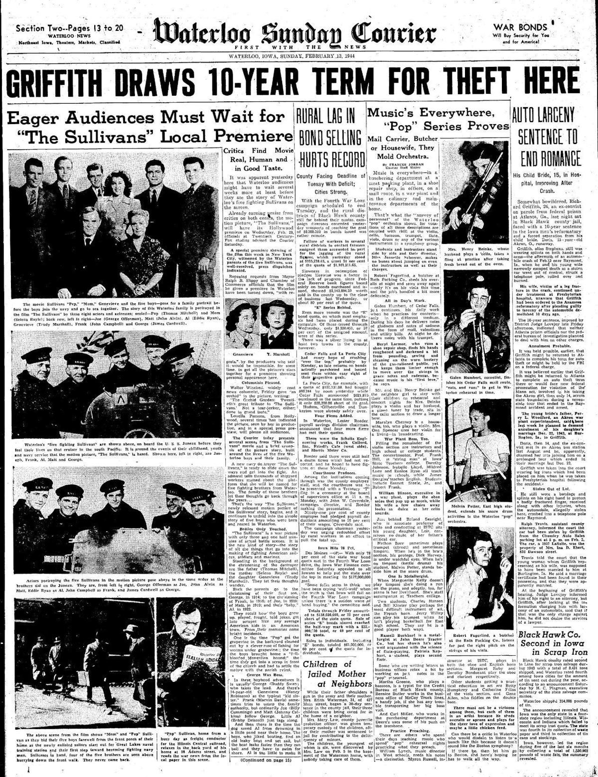 Courier Feb. 13, 1944