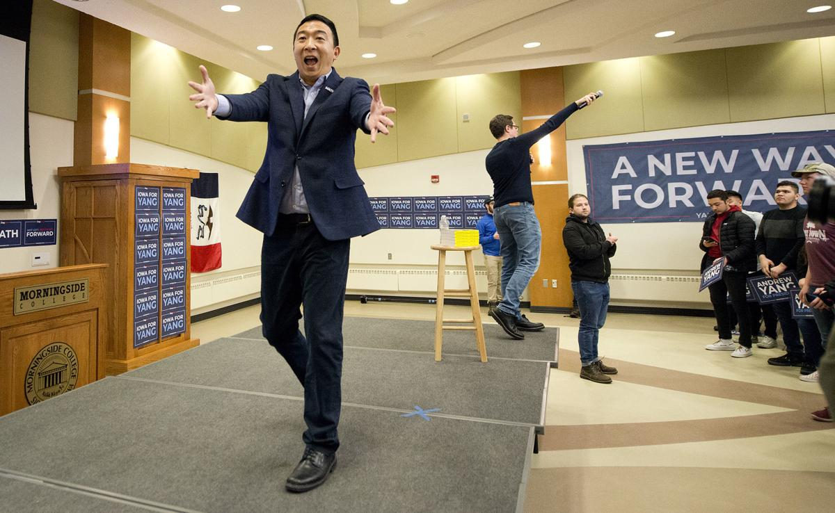 Andrew Yang Sioux City campaign #1
