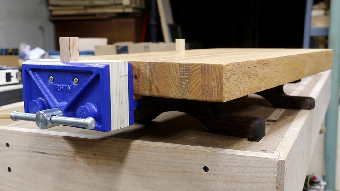 Project Lab: Old futon, new mini workbench