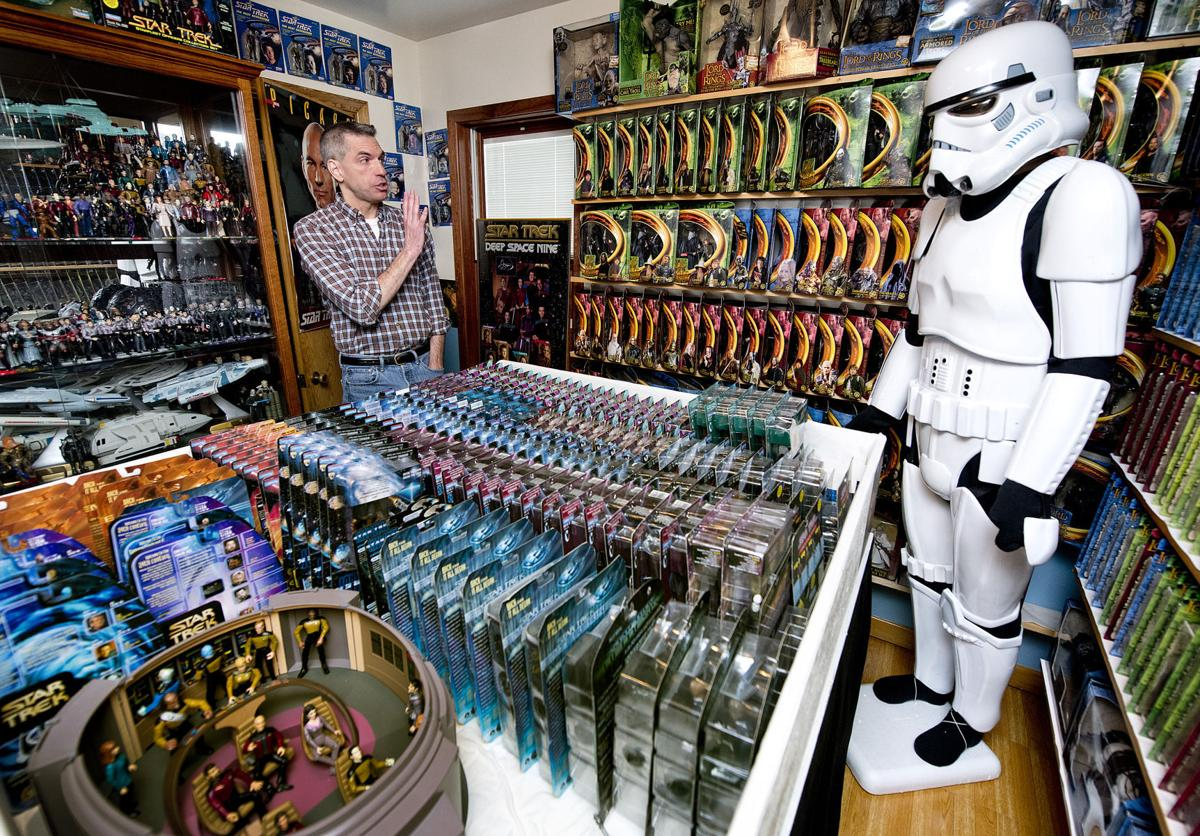 Star War collector Randy Van Peursem