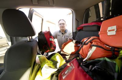 Rural Woodbury County paramedic