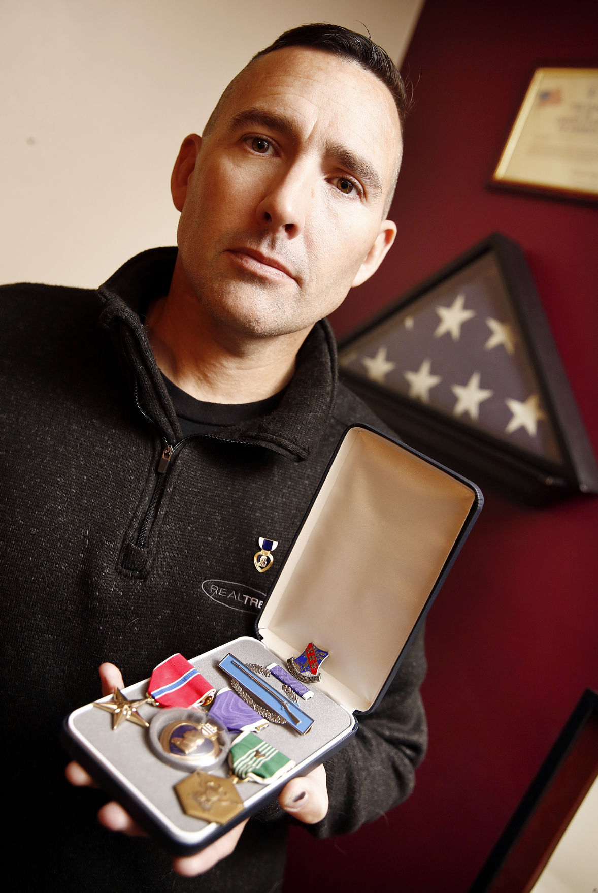 Iraq veteran Todd Landen