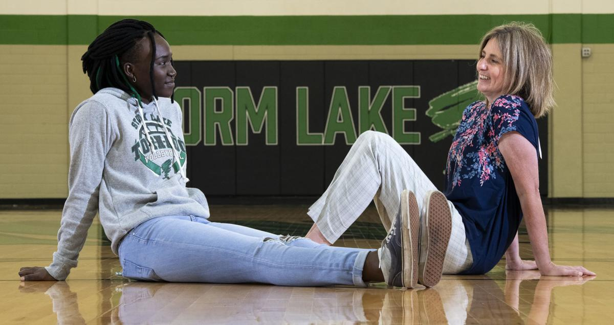 Storm Lake racial taunts