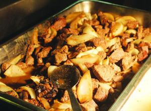 Enjoy our Beef & Onions!